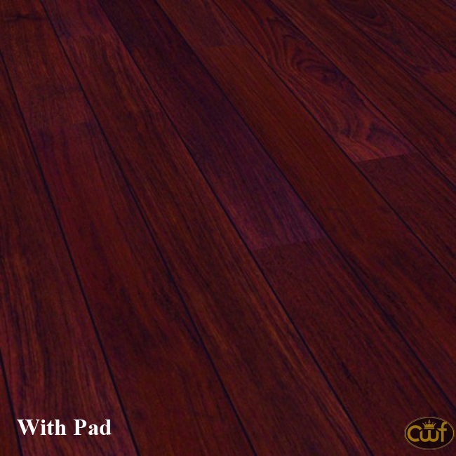 Brazilian Cherry Home Decor Designer Collection 9 Mm With Pad