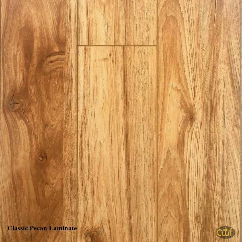 Classic pecan krono original with pad 14mm custom lock for Pecan laminate flooring