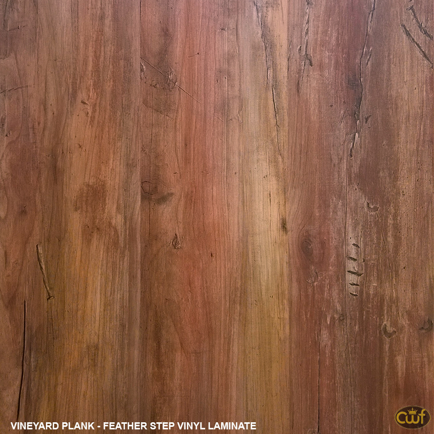 Vineyard Plank Feather Step Vinyl Carolina Floor Covering