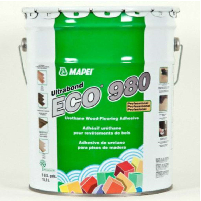 Eco 980 Ultrabond Mapei Carolina Floor Covering