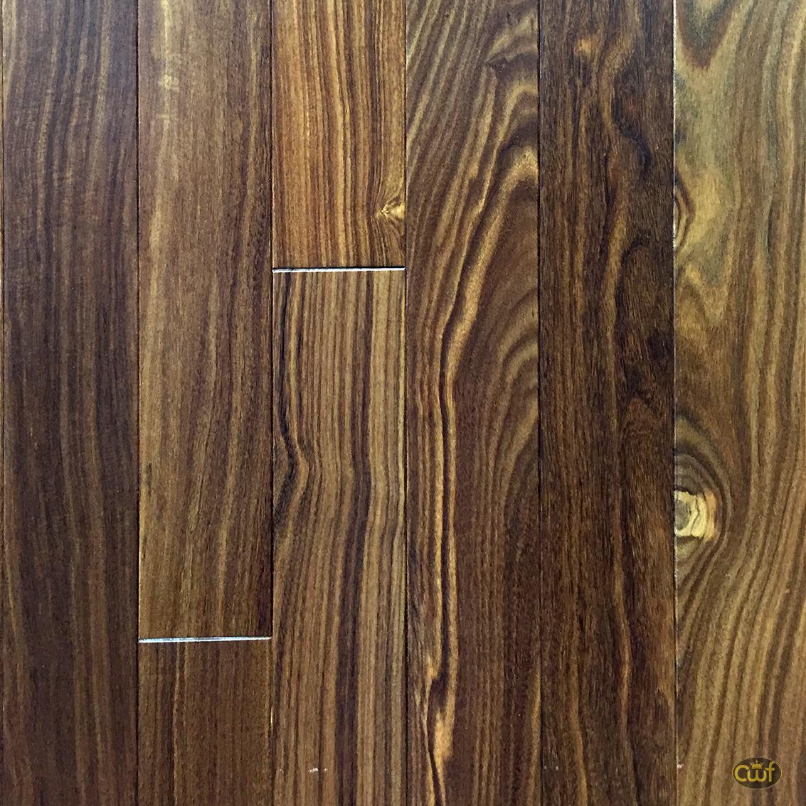"Solid Brazilian Walnut Hardwood Flooring: Brazilian Walnut Clear 2 1/4"""