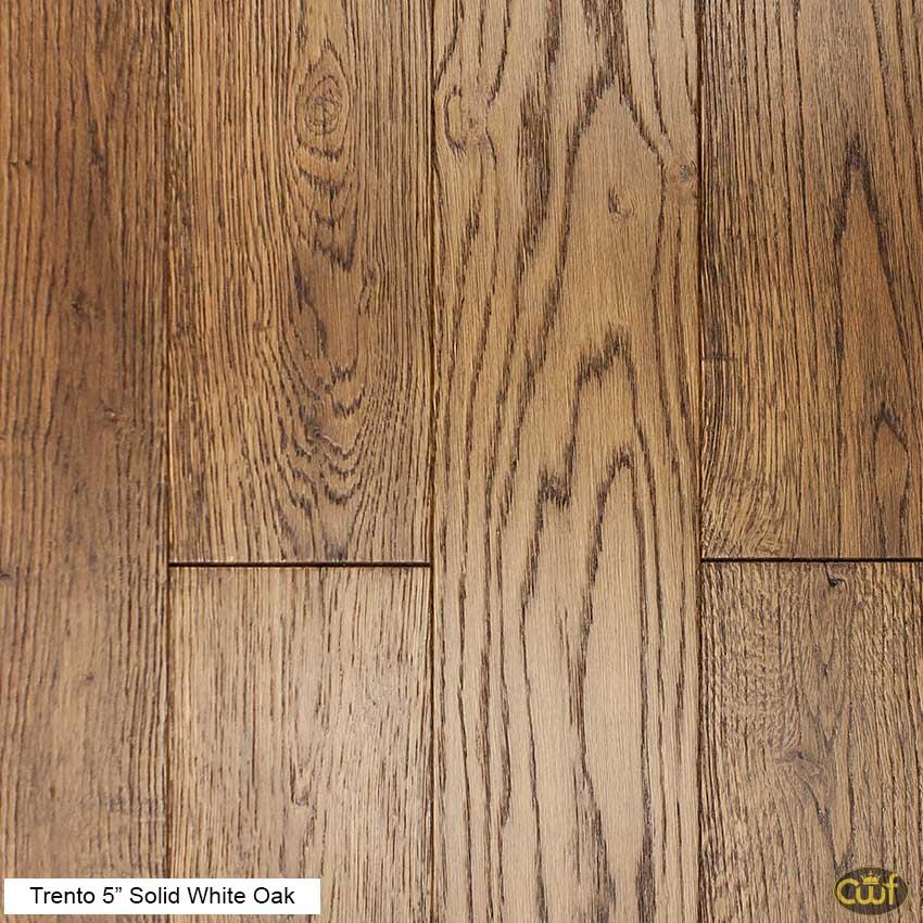 Trento 5 Solid White Oak Tg Carolina Floor Covering