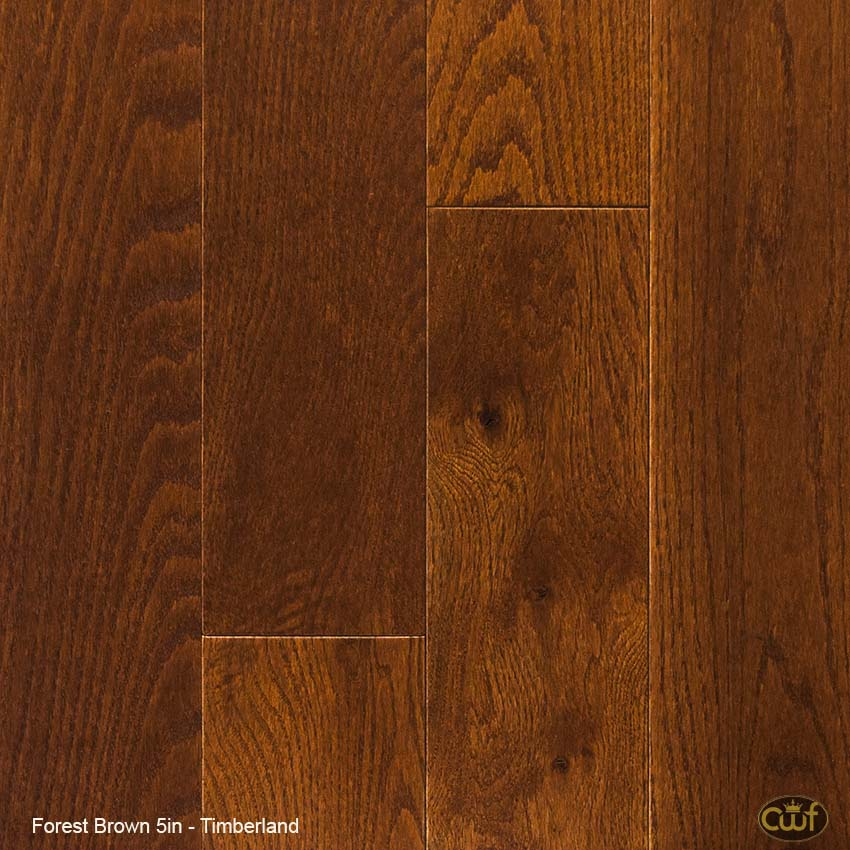 Forest Brown 5″ – Timberland Wood Floors - Forest Brown 5