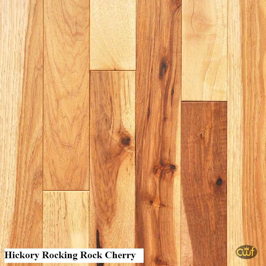 Hickory Rocking Rock Cherry 3 1 4 Carolina Floor Covering