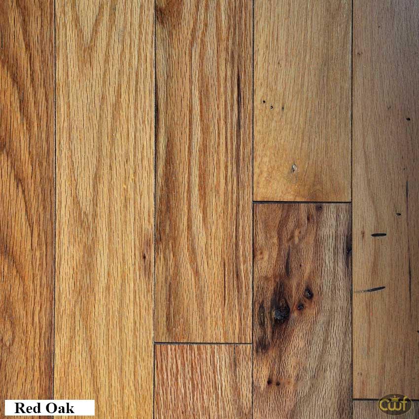 Red Oak Natural 3 1 4