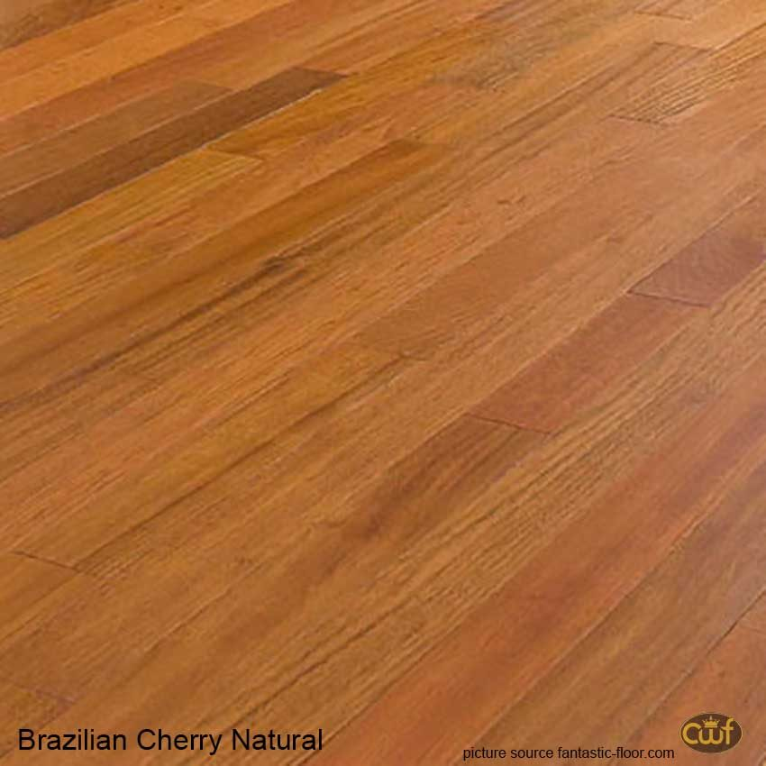 Brazilian Cherry Natural 5/16