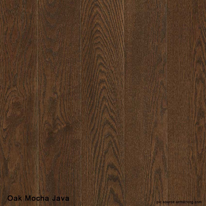 Solid Oak Mocha Java 5 Quot Timberland Wood Floors