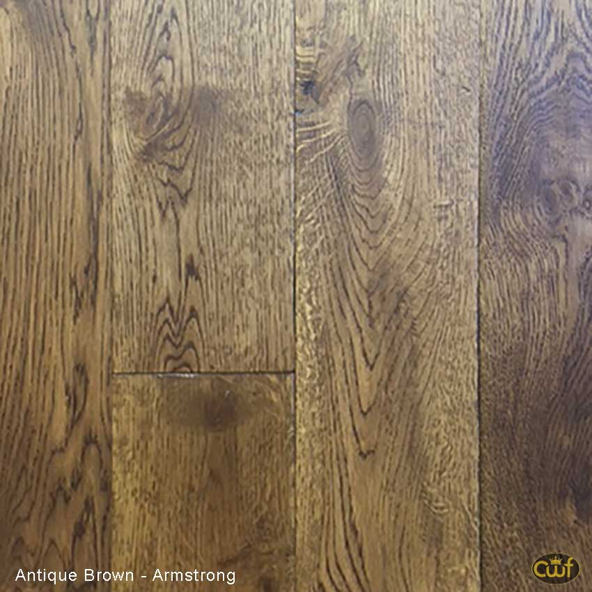 Antique Brown Solid Oak Armstrong 5 In Carolina Floor Covering