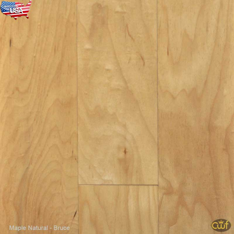 Maple Natural 5 Bruce Made In The Usa