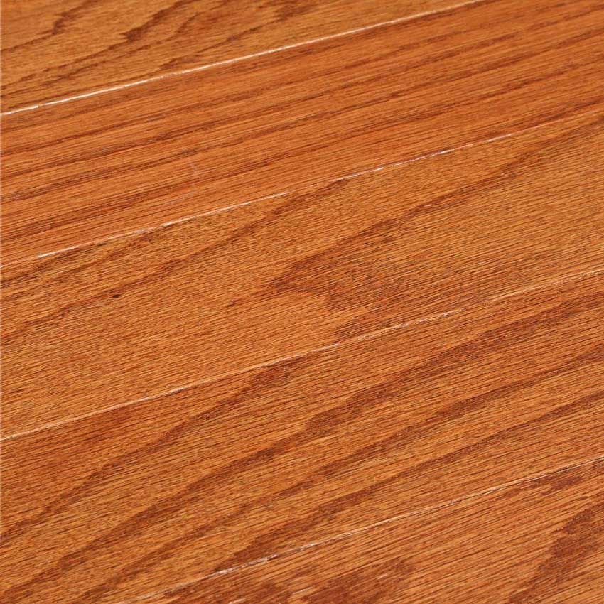 Oak gunstock 3 8 x 3 bruce colony collection made in for Bruce hardwood floors 3 8