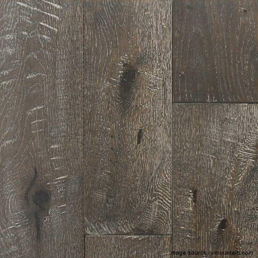 Taupe 5 Hand Scraped Solid Oak Carolina Floor Covering