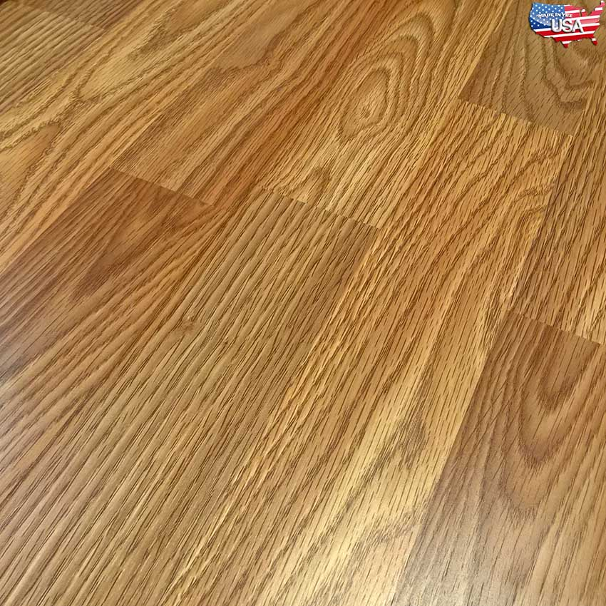 Classic Oak Premier Glueless Laminate Made In The Usa
