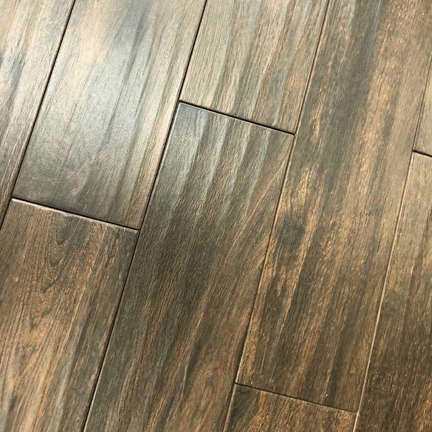 Walnut Dark Brown Porcelain Tile 6 Quot X 24 Quot Carolina Floor